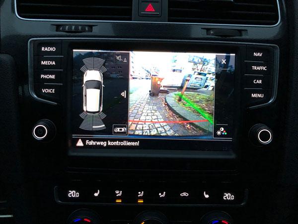 Rückfahrkamera VW Golf 7