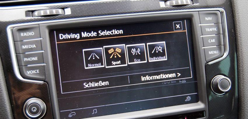 Driving Mode VW Golf 7