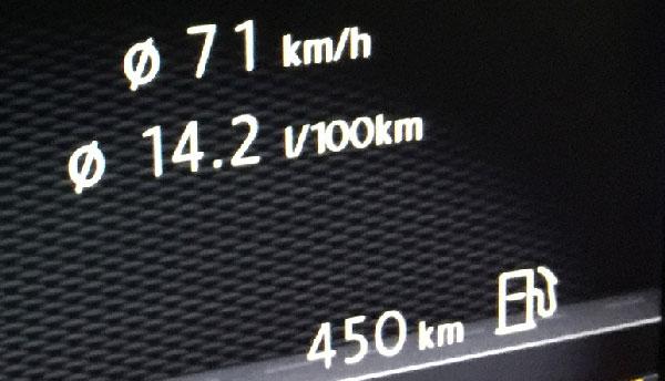 Spritverbrauch VW Golf 7 GTI