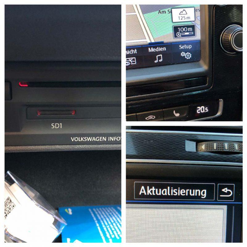 Navi Update VW Golf 7