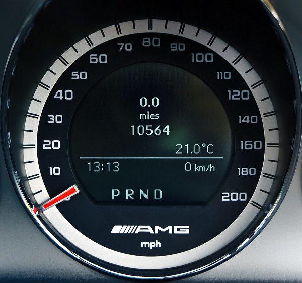Tacho Mercedes Benz AMG