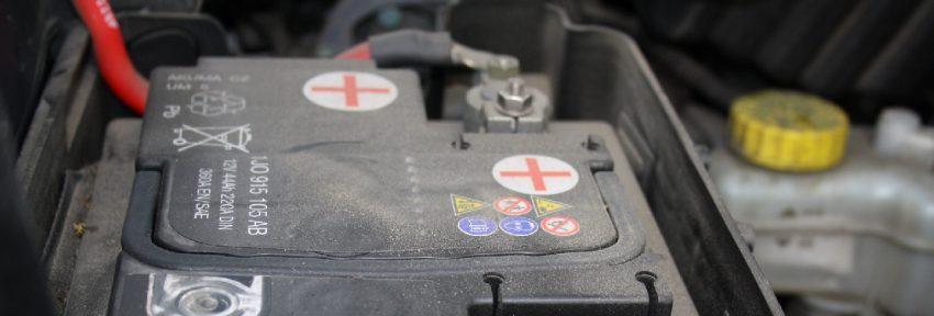 Autobatterie von einem VW Tiguan