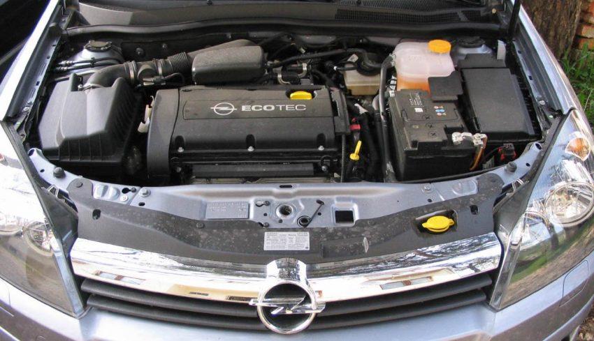 EcoTec Motor von einem Opel Astra