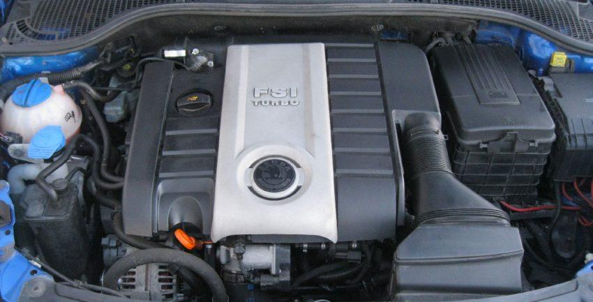 FSI Turbo Motor von einem Skoda Octavia