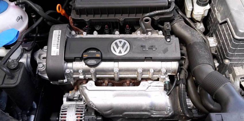 Motor von einem VW Golf 6