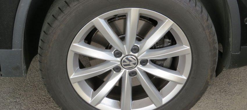 Reifen Von einem VW Tiguan