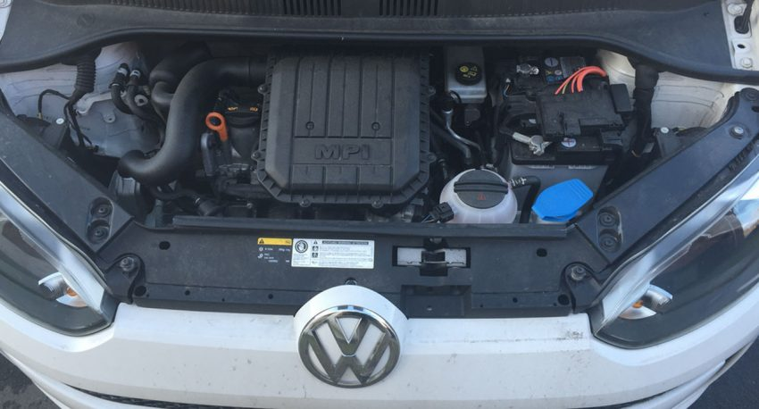 Motor des VW Up