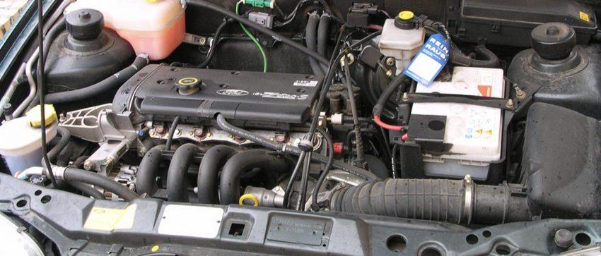 Motor von einem Ford Fiesta