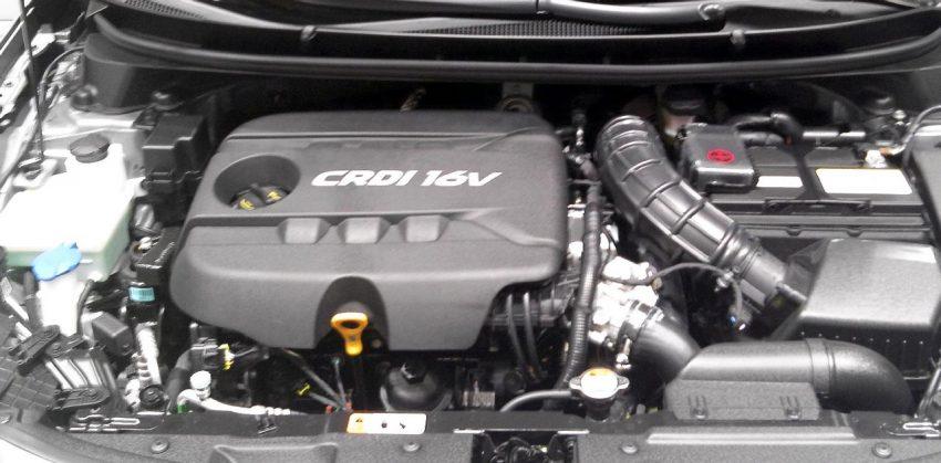 Motorraum Hyundai i30