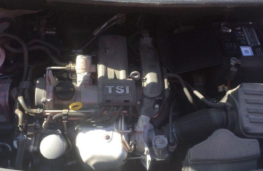 TSI Motor von einem VW Caddy