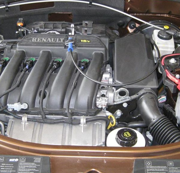 Renault Motor von einem Dacia Duster
