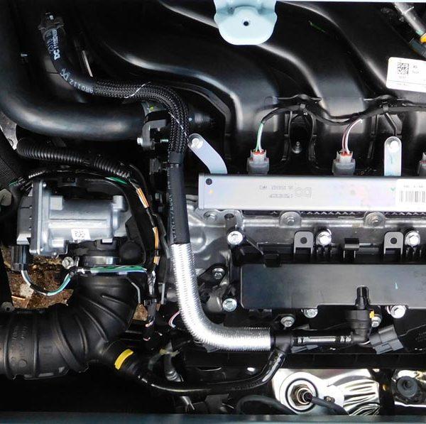 Motorraum Renault Twingo