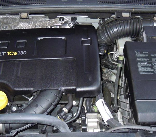 Motorraum Renault Megane TcE Motor