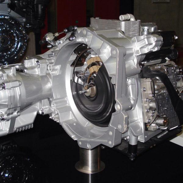 Schaltgetriebe Innenansicht VW