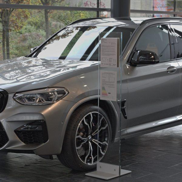 Seitenansicht BMW X3M Anthrazit