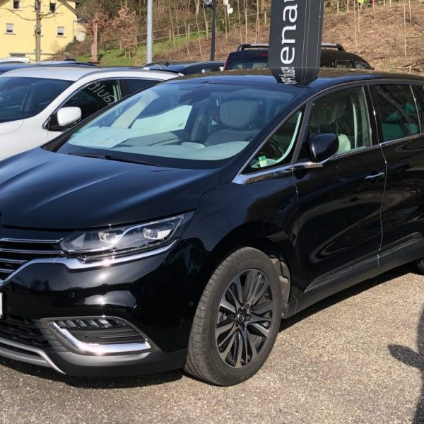 Schwarzer Renault Espace Seitenansicht