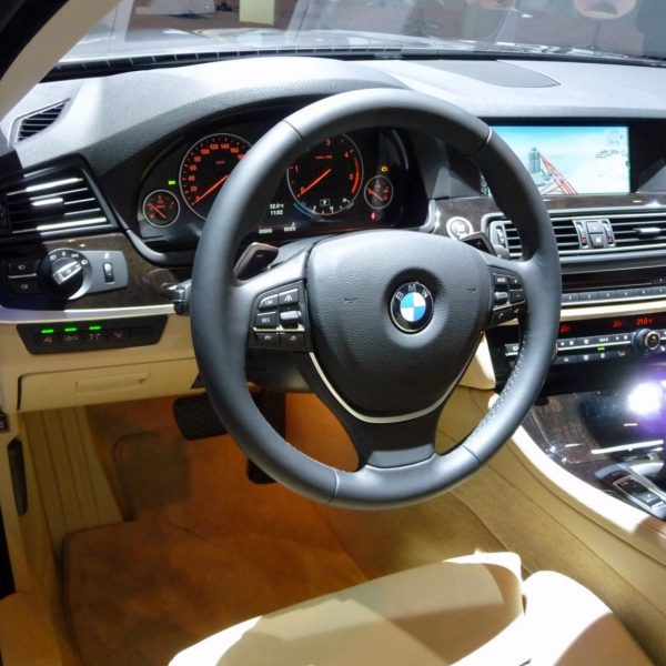 Innenraum BMW 5er Automatik