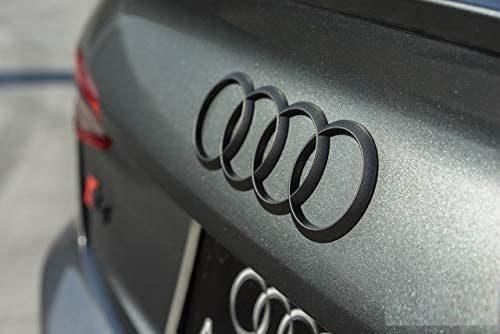 Schwarze Audi Ringe Nachrüsten