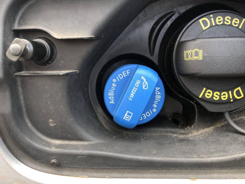 AdBlue Nachfüllen Tanken Audi A4