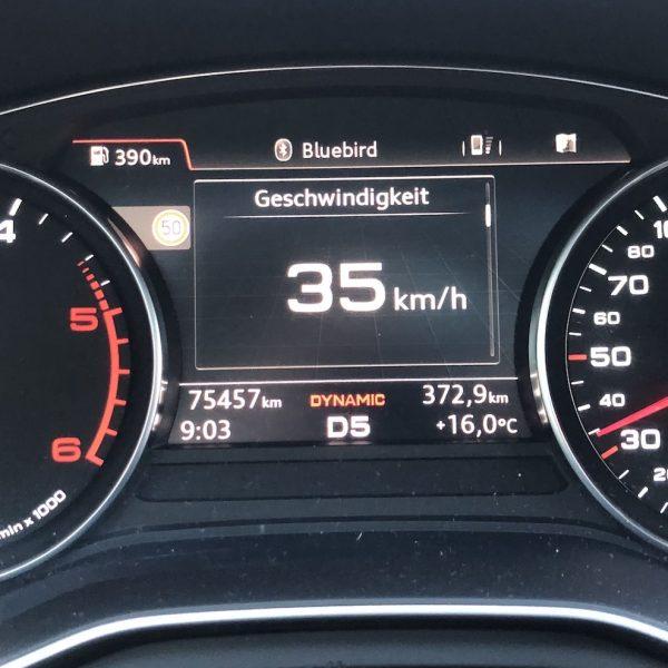Tacho Geschwindigkeit Audi A4