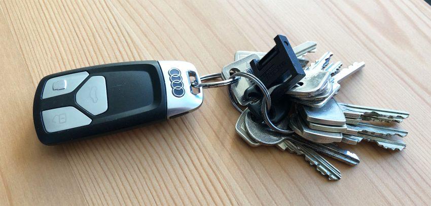Schlüsselbund Audi