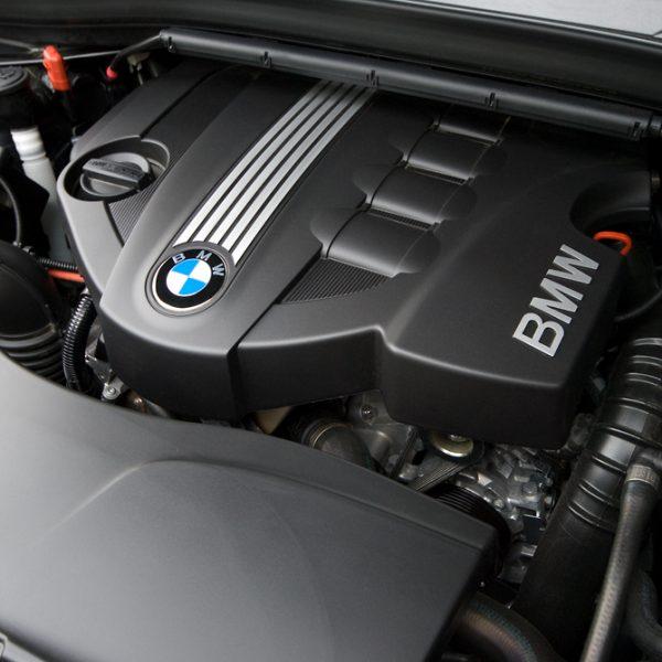 Motorraum BMW N47