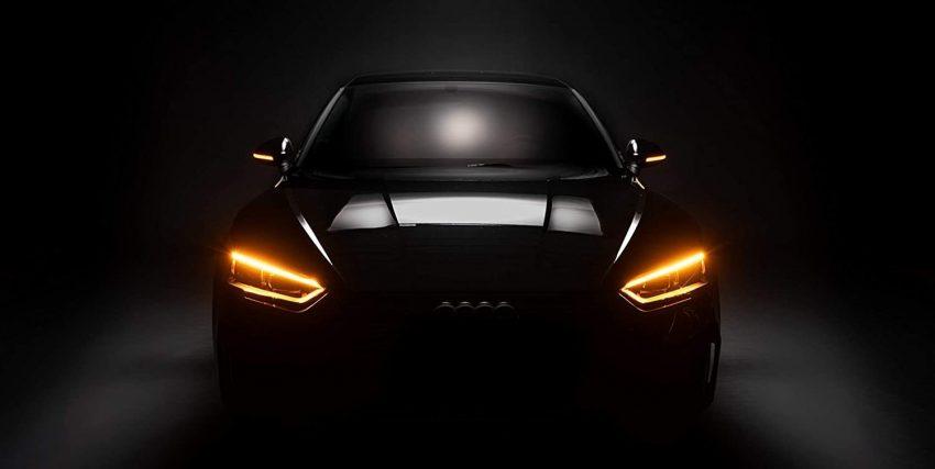 Audi A4 LED Scheinwerfer Orange