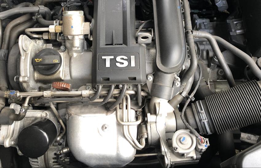 Motorraum VW TSI