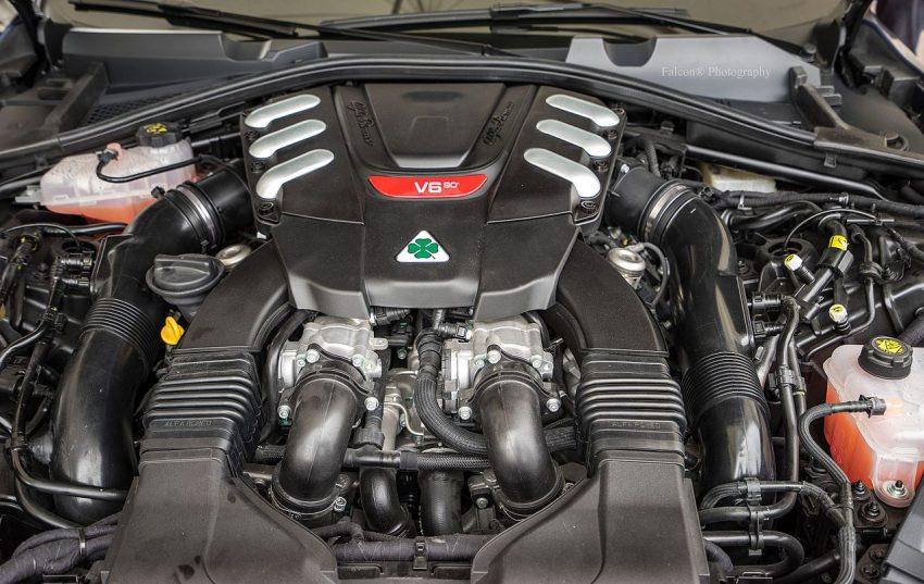 Motor Alfa Romeo Stelvio V6 Quadrifoglio