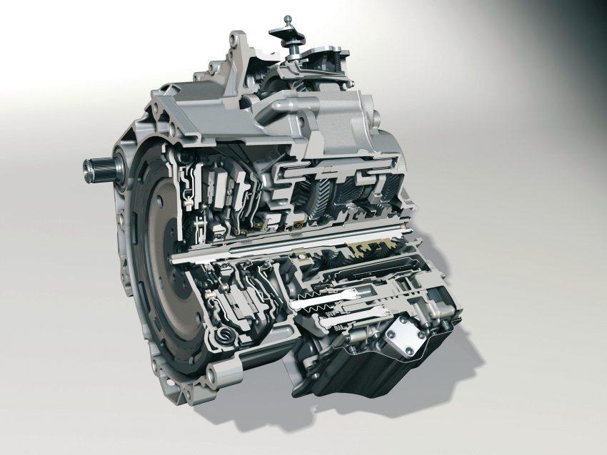 Innenansicht VW 7 Gang DSG 250Nm
