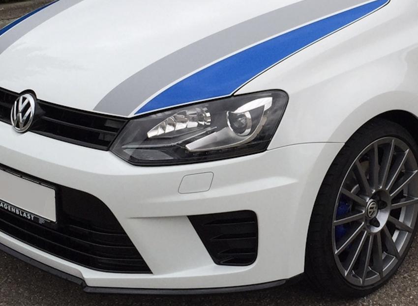 Scheinwerfer Weißer VW Polo V