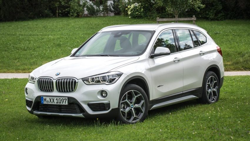 Frontansicht BMW X1 Modell F48