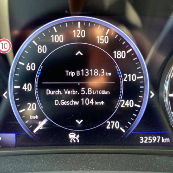 Anzeige Verbrauch Diesel Insignia B 2.0