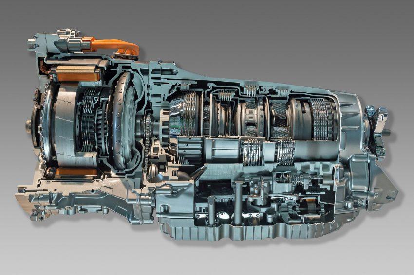 Innenansicht Mercedes Benz 9G Tronic