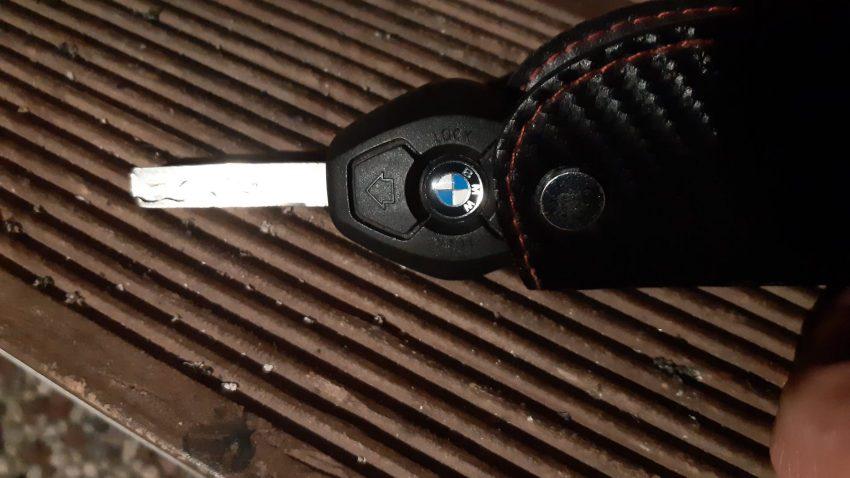 Älterer Funkschlüssel des BMW E46