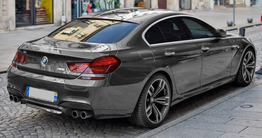 Heckansicht BMW M6 Gran Coupe