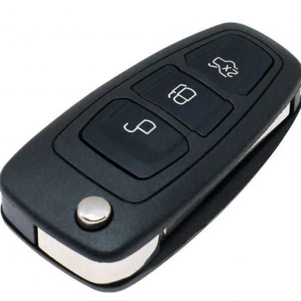 Funkschlüssel eines Ford Focus