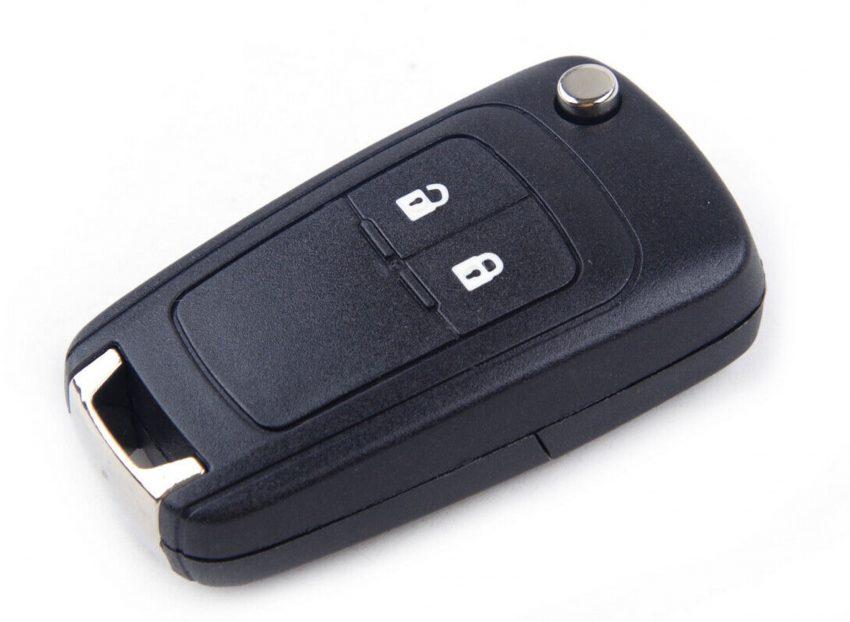 Eingeklappter Opel Karl Funkschlüssel