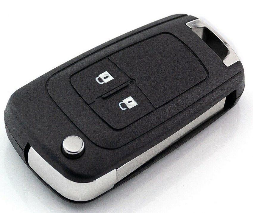 Funkschlüssel eines Opel Meriva B