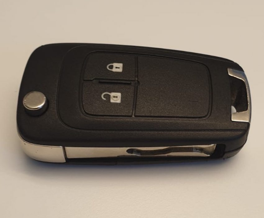 Opel Mokka Funkschlüssel Rückseite