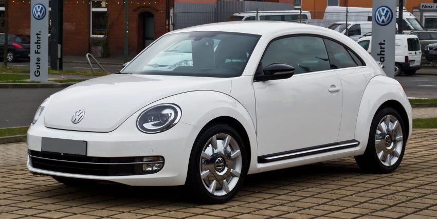 VW Beetle 1.4 TSI weiss Sport
