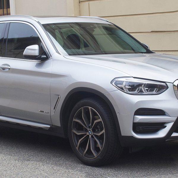 BMW X3 Modell G01 Seitenansicht