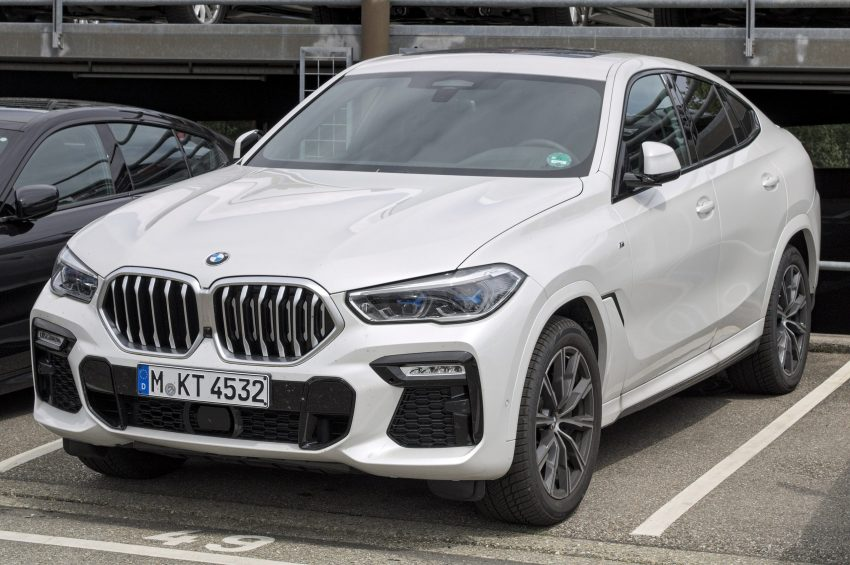 BMW X6 (Modell G06) weiss Frontansicht