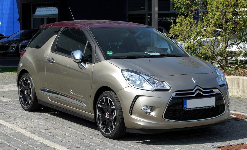 Citroën DS3 SportChic (2010–2016)