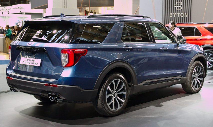 Hybridversion des Ford Explorer 6