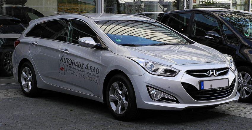 Hyundai i40 Kombi Silber