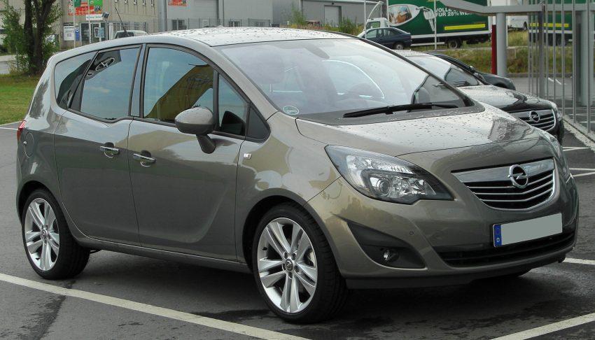 Opel Meriva B Seitenansicht