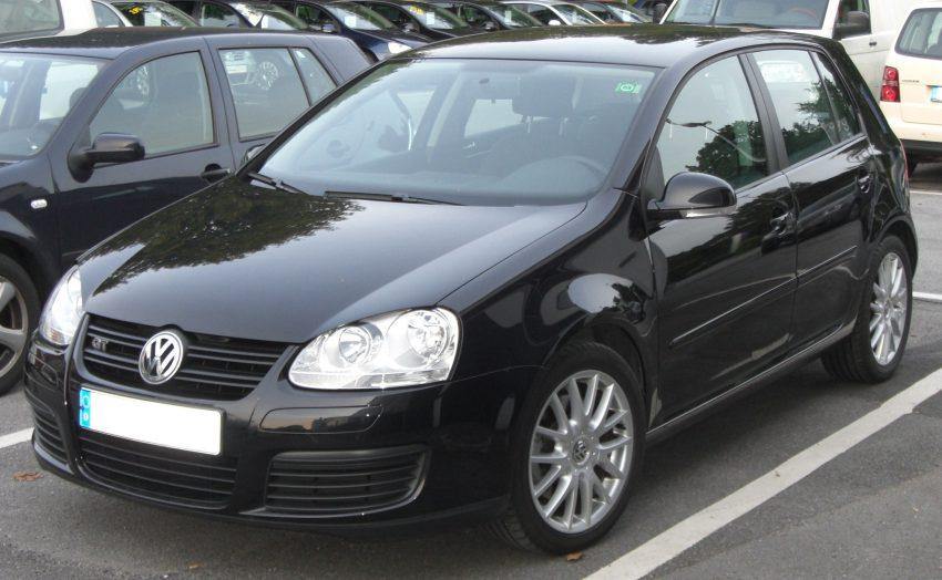 VW Golf 5 GT (schwarz)