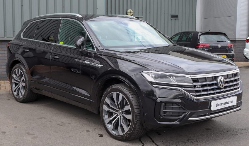 VW Touareg III R Line Frontansicht