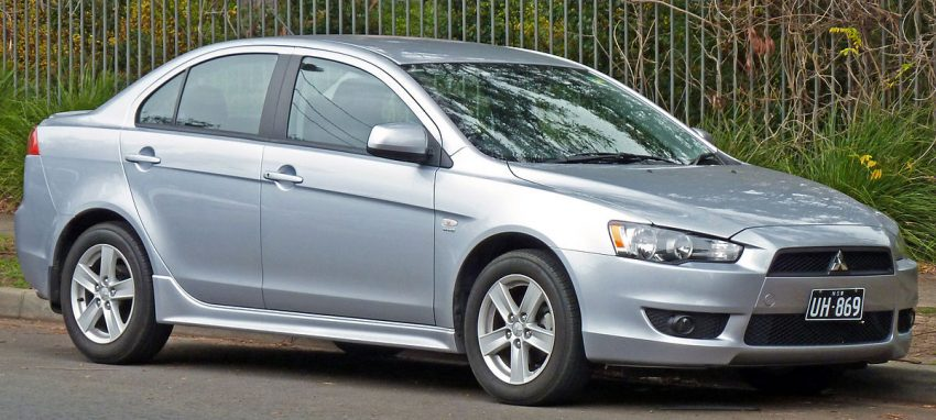 2007-2009 Mitsubishi Lancer (CJ) VR sedan 02.jpg